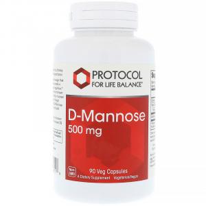 D-Mannose 500 mg 90 kapslar